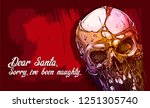detailed graphic realistic cool ... | Shutterstock .eps vector #1251305740