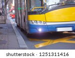 public transportation   bus in... | Shutterstock . vector #1251311416