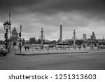 paris  france   june 18  2015 ... | Shutterstock . vector #1251313603