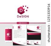 abstract design logo branding... | Shutterstock .eps vector #1251333916