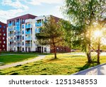 apartment house and home... | Shutterstock . vector #1251348553