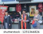 christchurch  new zealand  ... | Shutterstock . vector #1251366826