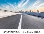 panoramic skyline and buildings ... | Shutterstock . vector #1251394066