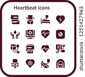 vector icons pack of 16 filled...   Shutterstock .eps vector #1251427963