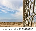Chainlink Fence Taken At An...