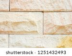 stone background  sand wall... | Shutterstock . vector #1251432493