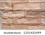 stone background  sand wall... | Shutterstock . vector #1251432499