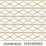 seamless geometric ornamental... | Shutterstock .eps vector #1251453403