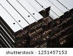 maxima aluminum modular column...   Shutterstock . vector #1251457153
