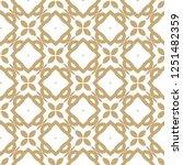 geometric ornamental vector...   Shutterstock .eps vector #1251482359