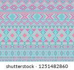 navajo american indian pattern... | Shutterstock .eps vector #1251482860