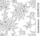 abstract elegance seamless... | Shutterstock .eps vector #1251491710