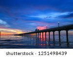 beautiful sky on twilight time... | Shutterstock . vector #1251498439