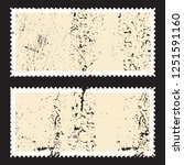 postage stamps in grunge style. ... | Shutterstock .eps vector #1251591160