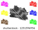 west java  subdivisions of... | Shutterstock .eps vector #1251596956