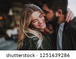 precious moments of love. close ... | Shutterstock . vector #1251639286