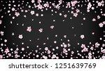 nice sakura blossom isolated...   Shutterstock .eps vector #1251639769