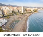 aerial view of costa del sol in ... | Shutterstock . vector #1251641320