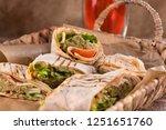 pieces of vegetarian falafel...