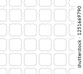 seamless vector pattern in... | Shutterstock .eps vector #1251669790
