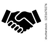 shake hands friendship of... | Shutterstock .eps vector #1251670276