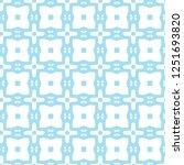 seamless geometric ornamental... | Shutterstock .eps vector #1251693820