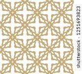 seamless geometric ornamental... | Shutterstock .eps vector #1251693823