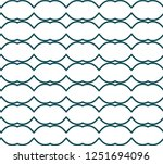 seamless geometric ornamental... | Shutterstock .eps vector #1251694096