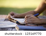 young women and education ... | Shutterstock . vector #125169770