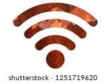 wifi signal symbol | Shutterstock . vector #1251719620