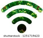 wifi signal symbol | Shutterstock . vector #1251719623