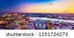 panoramic aerial view of the... | Shutterstock . vector #1251724273
