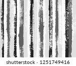 black white grey paint stripes... | Shutterstock .eps vector #1251749416