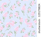 seamless floral pattern with... | Shutterstock .eps vector #125178824
