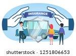 car insurance  security ...   Shutterstock .eps vector #1251806653