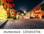 christmas gruyeres town village ... | Shutterstock . vector #1251813736