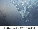 texture of frosted glass.... | Shutterstock . vector #1251857353