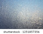 texture of frosted glass.... | Shutterstock . vector #1251857356