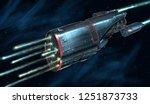 concept art digital painting or ... | Shutterstock . vector #1251873733