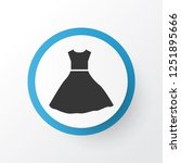 evening gown icon symbol.... | Shutterstock .eps vector #1251895666