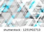 seamless urban geometric grunge ... | Shutterstock .eps vector #1251902713