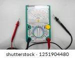analog multimeter isolated on... | Shutterstock . vector #1251904480