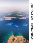 aerial view of the red sea and... | Shutterstock . vector #1251928480