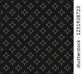 subtle raster seamless pattern... | Shutterstock . vector #1251928723
