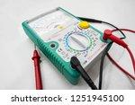 analog multimeter isolated on... | Shutterstock . vector #1251945100