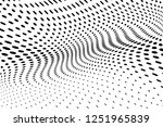 wavy dotted lines background.... | Shutterstock .eps vector #1251965839
