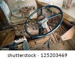 Steering Wheel In Rusty  Old...
