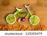 healthy lifestyle concept  ... | Shutterstock . vector #125205479