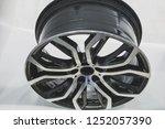 close up car mag wheel... | Shutterstock . vector #1252057390
