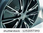 close up car mag wheel... | Shutterstock . vector #1252057393